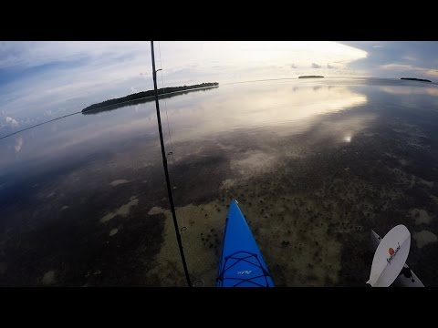 Key West Kayak Flats Fishing - An Evening On The Flats