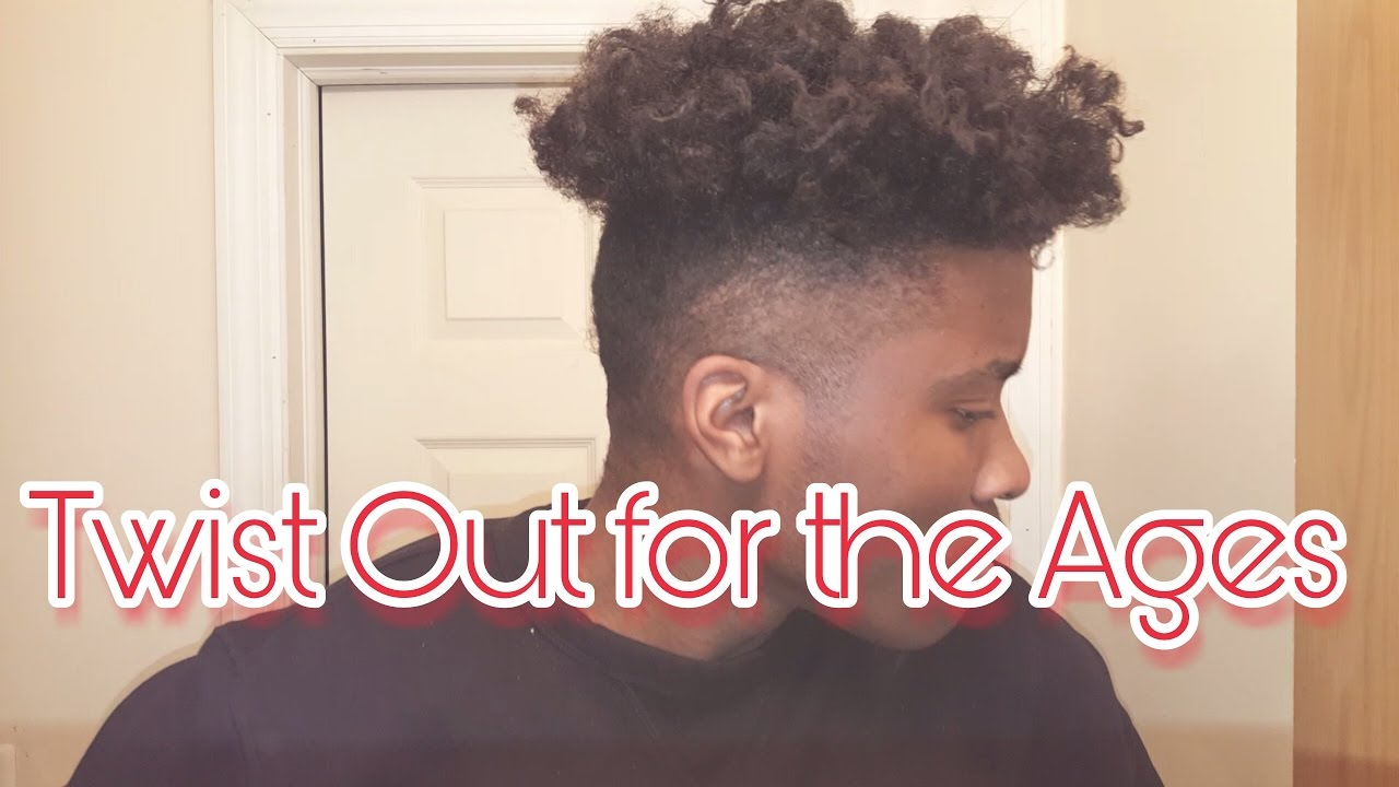 Twist Out Curls For The Ages I Tutorial For Men YouTube