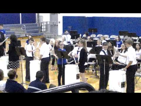 Martinsburg North Middle School Percussion - Pipe Down