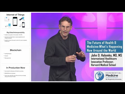 Dr. John Halamka:  The Future Of Health And Medicine - Lessons From Around The World