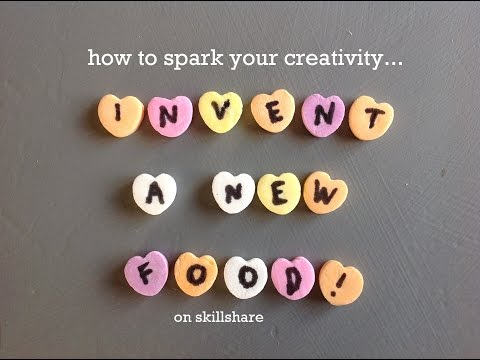 Practice Creativity in Business & Design Thinking – Invent a New Food