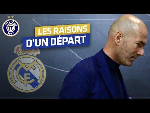 Real Madrid : Zidane, un départ au sommet