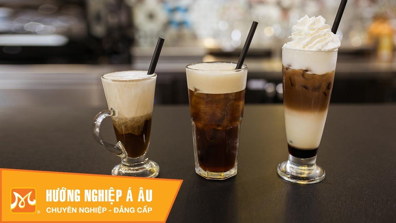 Cách pha cafe Espresso lạnh: Shakerato, Mocha, Cappuccino Freddo |Học Barista