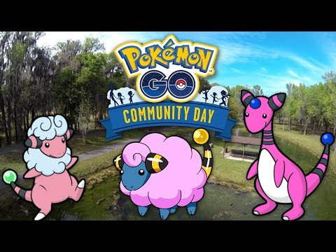 BEEP BEEP SHINY MAREEP!!! Pokemon GO Community Day | April 2018 thumbnail