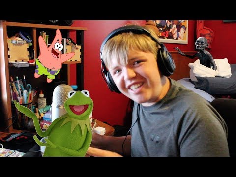 Singing Songs With Impressions!(Kermit The Frog and MORE...)