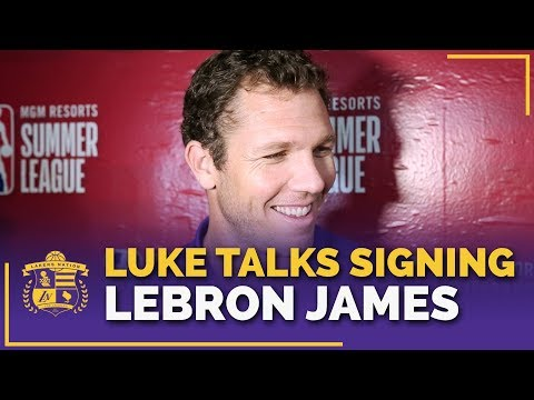 Luke Walton's Reaction To Signing LeBron James, Rajon Rondo & Lance Stephenson