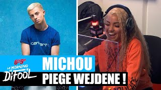 Michou piège Wejdene ! #MorningDeDifool