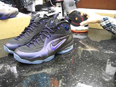 wholesale dealer 2d9fa 7a722 Nike Air Penny 1 2 Cent Eggplant at Street Gear, Hempstead NY - YouTube