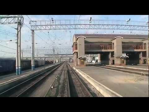 прибытие поезда 6203 сообщением шумиха-челябинск эд 4м-135