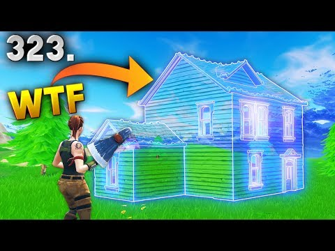RAREST INVISIBLE HOUSE..!? Fortnite Daily Best Moments Ep.323 (Fortnite Battle Royale Funny Moments)