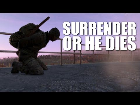 THE HOSTAGE EXPERIMENT: will someone give his life to save me? - DayZ Standalone