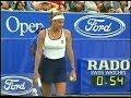 Mary Pierce vs Natalia Medvedeva Australian Open 1997 (2.Set partly)