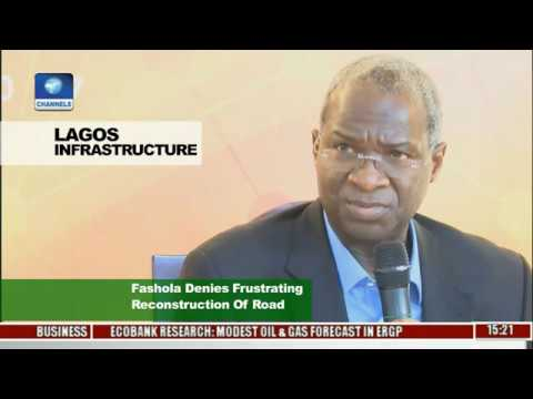 News Across Nigeria: Fashola Denies Frustrating Reconstruction Of Lagos Roads