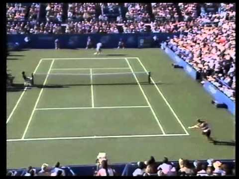 Sampras vs Agassi - Great Point - Fantastic and Incredible