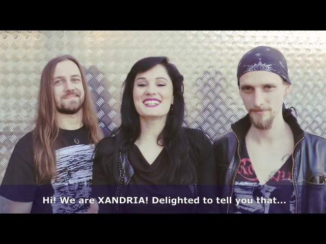 VIP tickets for XANDRIA's first North American HEAD LINE TOUR!!