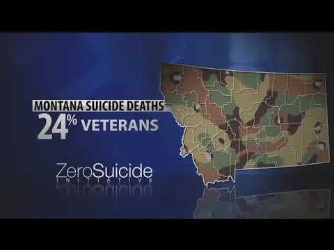 Zero Suicide Initiative  Montana Military Veterans
