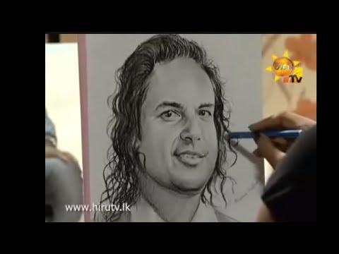 "Shamen Walker Artist's TV program with Nalin Perera ""MAMA NOWE MAMA"" Hiru tv"