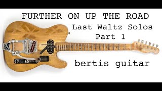 Eric Clapton Lesson - Further On Up The Road (Part One)