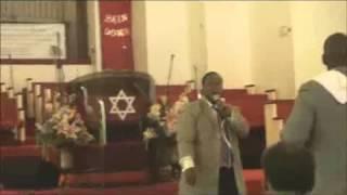 Pastor John Tatum Ministering at Trinity All Nation Church - Building Your Faith Worship Center.flv