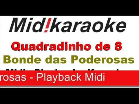Quadradinho de 8 - playback - midi - karaoke Travel Video