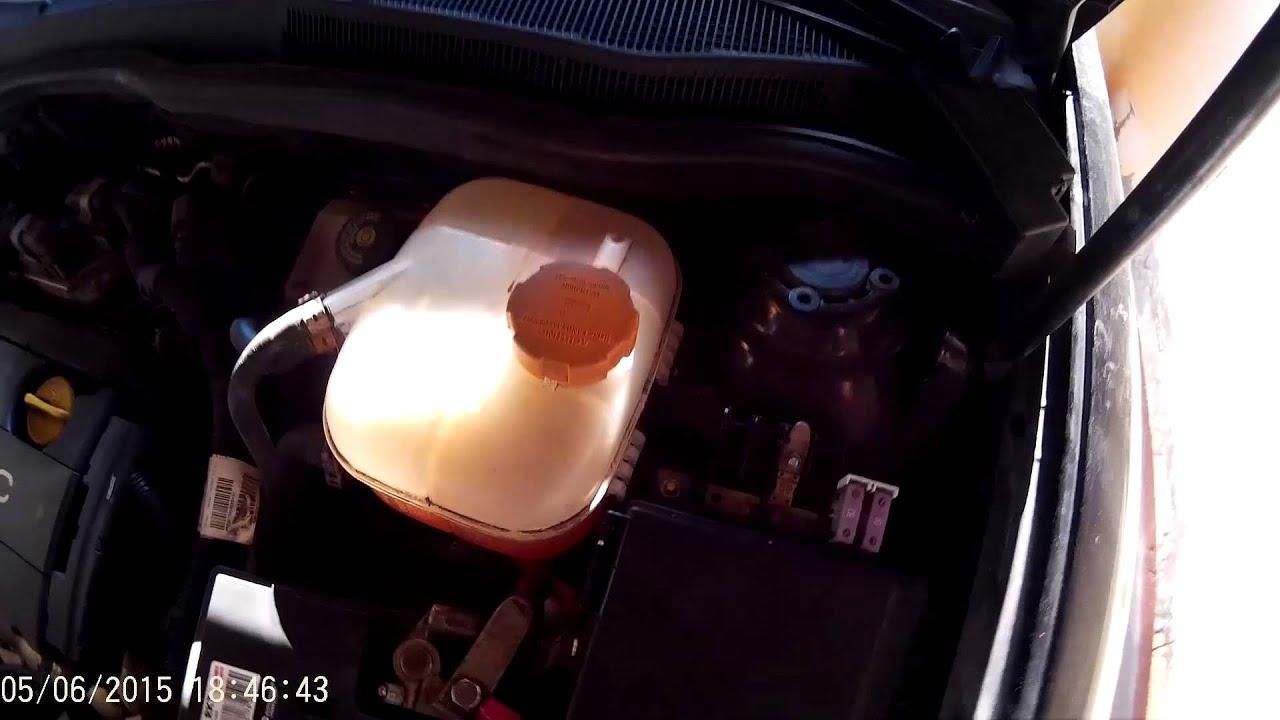 Sensor für Kühlmittelstand austauschen (Astra H) [GER][HD] Video