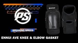 Ennui Ave knee & elbow gasket - Powerslide Speaking Specs