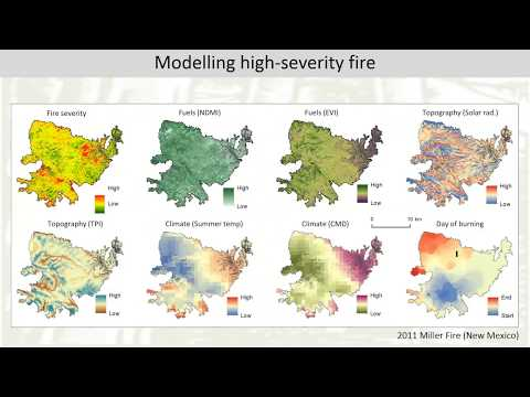 Modeling And Mapping The Potential For High Severity Fire In The Western U.S.
