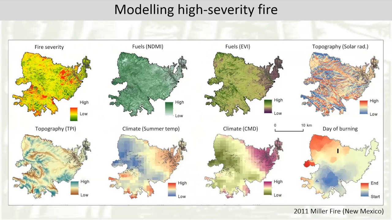 Modeling and mapping the potential for high severity fire in the ...
