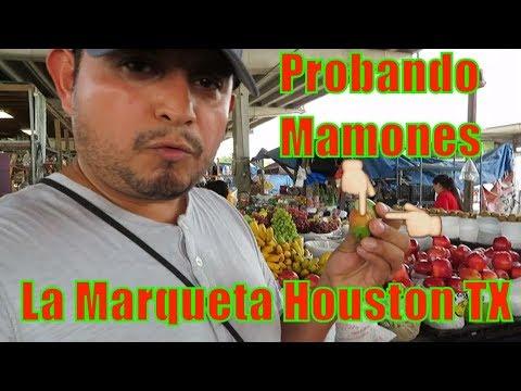 Visitando La Marqueta - Farmers Market - Houston Texas