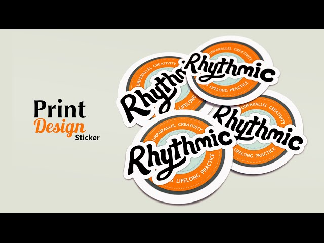 Print Design - Instances of sticker - Adobe Illustrator