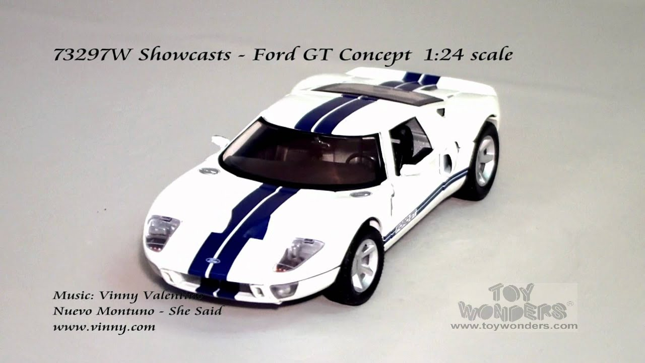 W Showcasts Ford Gt Concept  Scale Cast Wholesale Mpg