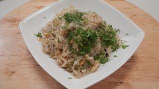 Lebanese Rice With Fish   Sanjeev Kapoor Khazana