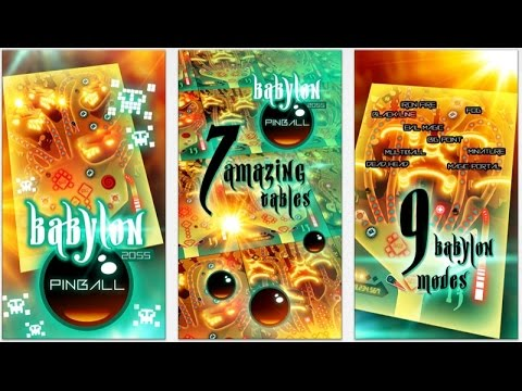 Babylon 2055 Pinball - iPhone & iPad - HD Gameplay Trailer