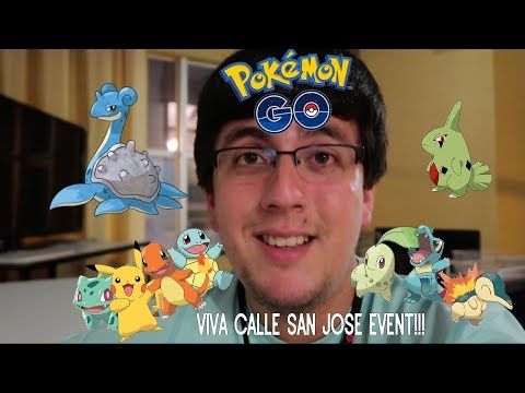 UPCOMING POKEMON GO EVENT IN SAN JOSE!!!  NEW TITLE SLATE!!!  MORE RAIKOU RAID & CATCHES!!!