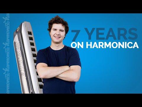 7 Years - Lukas Graham (Harmonica Cover)