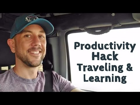 Productivity Hack - Traveling and Learning With Audiobook Recommendations