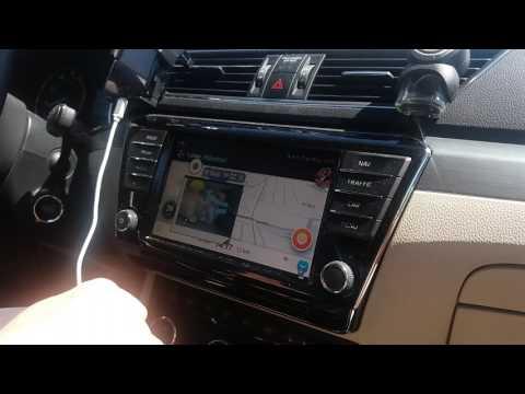 Mirrorlink Skoda - baby camera in car, IP mobile phone camera, multitasking