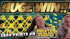 Huge Win! Pirates Plenty BIG WIN - Epic Win on Casino games from Casinodady
