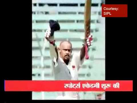 Kambli announces retirement from international cricket