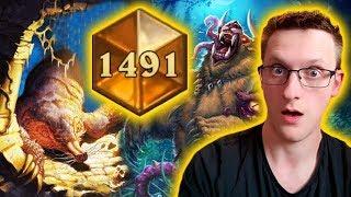 [Hearthstone] Savage Aggro Druid Legend Climb
