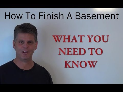 How to Finish a Basement - A Complete Step by Step Guide to Finishing a Basement Like a Pro!