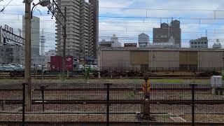 JR貨物 琵琶湖線 貨物列車 4K撮影