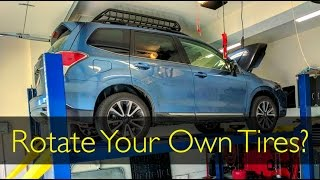 homepage tile video photo for 2017 Subaru Forester XT: Easy Tire Rotation!