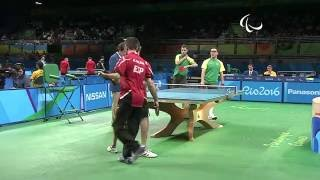 Baixar Table Tennis | Spain v Brazil | Men's Singles- Class 6-8 Round 1 | Rio 2016 Paralympic Games