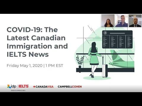Webinar: COVID-19 Impact On Canada Immigration & IELTS - Coronavirus