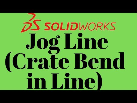 Jog Line in solidworks sketch (Learn Fast 2019) thumbnail