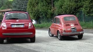 Fiat 500 1957 VS Fiat 500 2007 - IL Confronto by AF & SM