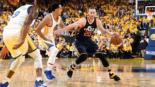 Gordon Hayward Drops 33 Points, Rudy Gobert Adds 16 and 16 In Game 2 | May 4, 2017