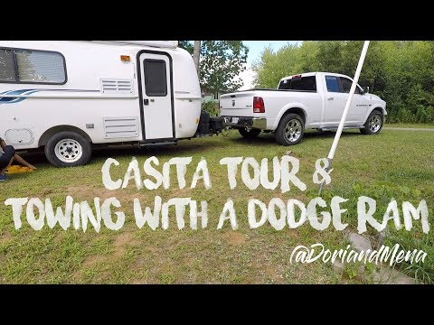 Casita Tour & Towing with a Dodge Ram