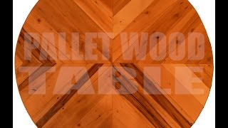 Easy Pallet Wood Table Top
